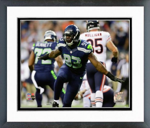 Seattle Seahawks O'Brien Schofield Action Framed Photo
