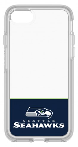 Seattle Seahawks OtterBox iPhone 8/7 Symmetry Clear Case