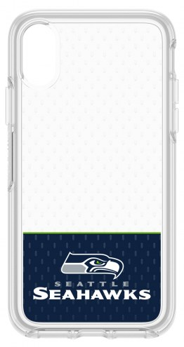 Seattle Seahawks OtterBox iPhone X Symmetry Clear Case
