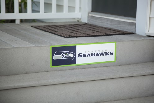 Seattle Seahawks Outdoor Step Graphic