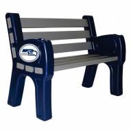 Seattle Seahawks Park Bench
