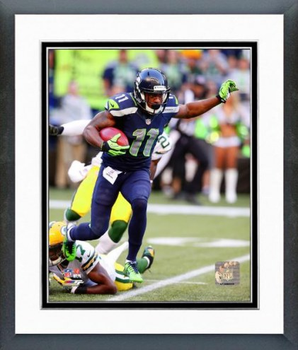 Seattle Seahawks Percy Harvin Action Framed Photo