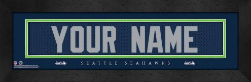 Seattle Seahawks Personalized Stitched Jersey Print