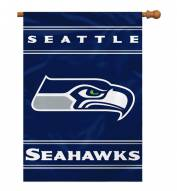 Seattle Seahawks NFL Premium 2-Sided House Flag