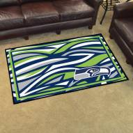 Seattle Seahawks Quicksnap 4' x 6' Area Rug