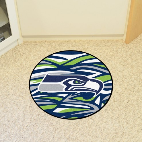 Seattle Seahawks Quicksnap Rounded Mat