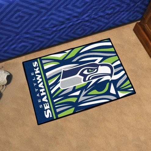 Seattle Seahawks Quicksnap Starter Rug