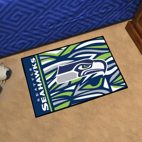 Seattle Seahawks Quicksnap Starter Rug
