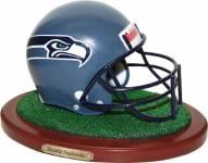 Seattle Seahawks Collectible Football Helmet Figurine
