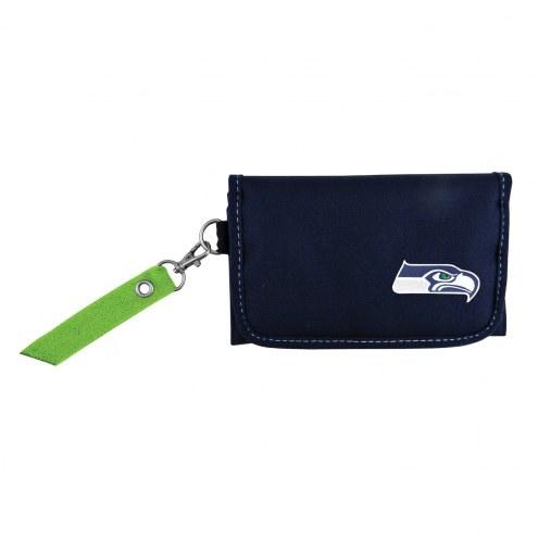 Seattle Seahawks Ribbon Organizer Wallet