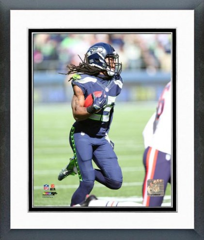 Seattle Seahawks Richard Sherman Action Framed Photo
