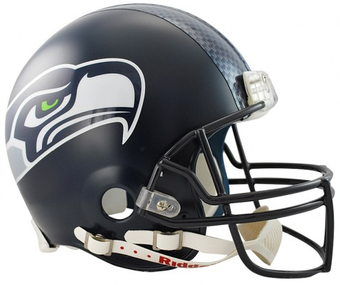 Seattle Seahawks Riddell VSR4 Authentic Full Size Football Helmet