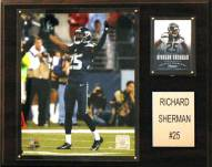 """Seattle Seahawks Roger Sherman 12 x 15"""" Player Plaque"""