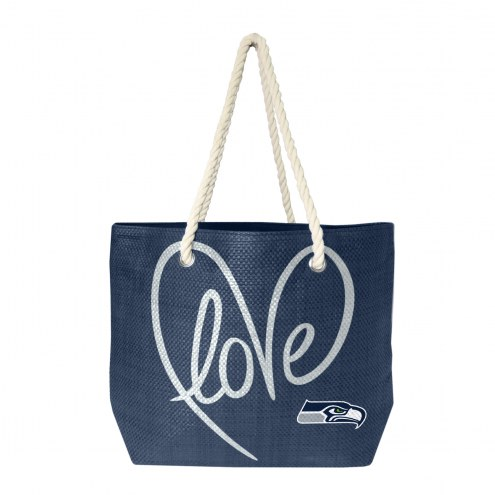 Seattle Seahawks Rope Tote