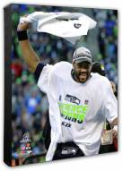 Seattle Seahawks Russell Wilson 2014 NFC Championship Game Photo