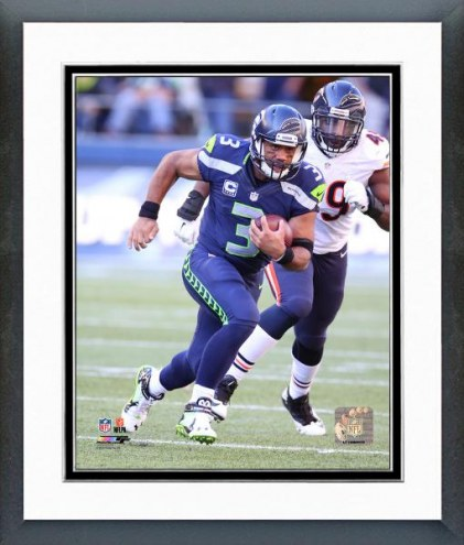 Seattle Seahawks Russell Wilson Action Framed Photo