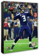 Seattle Seahawks Russell Wilson Action Photo