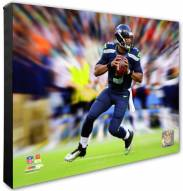 Seattle Seahawks Russell Wilson Motion Blast Photo