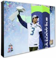 Seattle Seahawks Russell Wilson Super Bowl XLVIII Victory Parade Photo