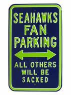 Seattle Seahawks Sacked Parking Sign