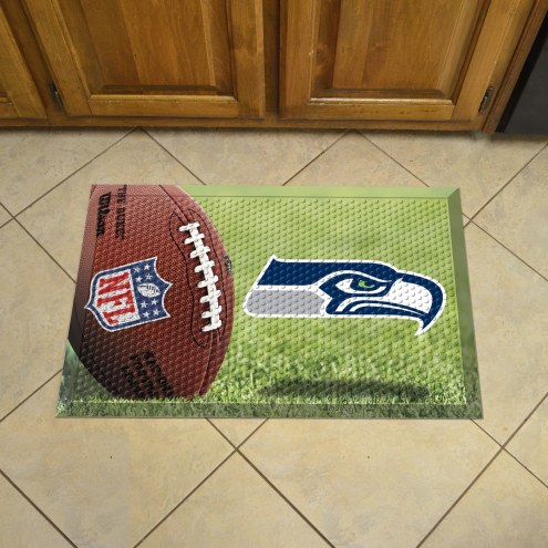 Seattle Seahawks Scraper Door Mat