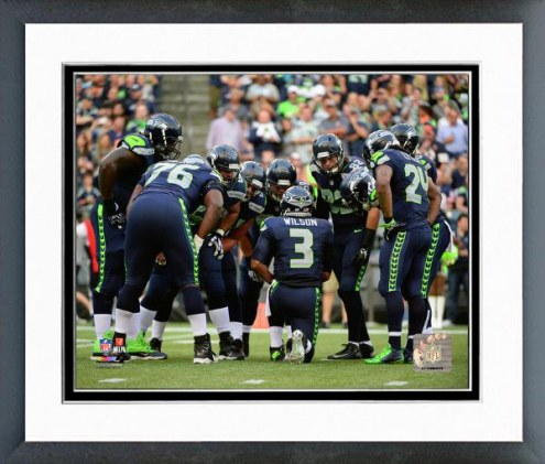 Seattle Seahawks Seattle Seahawks Huddle Framed Photo