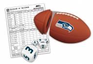 Seattle Seahawks Shake N' Score Travel Dice Game