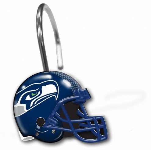 Seattle Seahawks Shower Curtain Rings