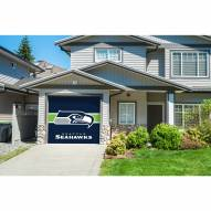 Seattle Seahawks Single Garage Door Cover