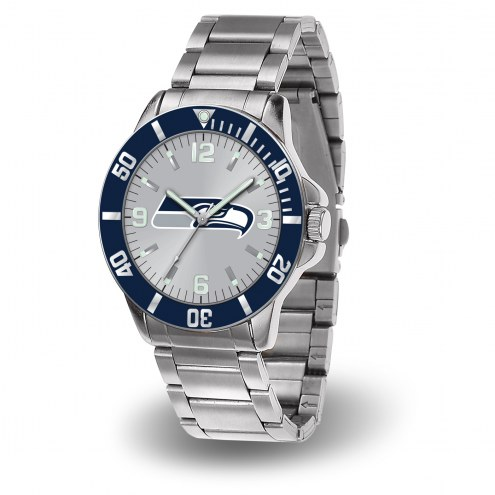 Seattle Seahawks Sparo Men's Key Watch