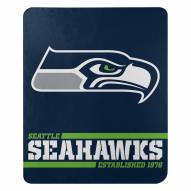 Seattle Seahawks Split Wide Fleece Blanket