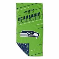 Seattle Seahawks Splitter Beach Towel