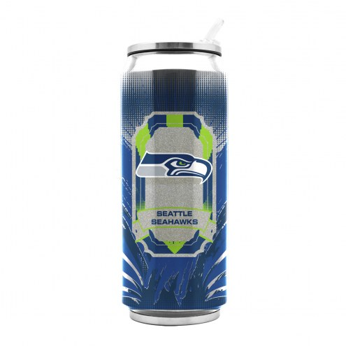 Seattle Seahawks Stainless Steel Thermo Can