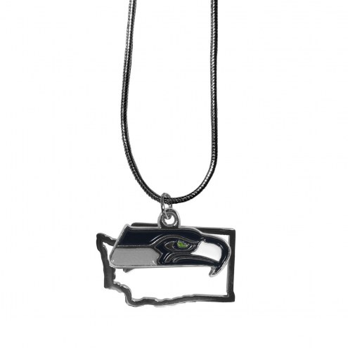 Seattle Seahawks State Charm Necklace