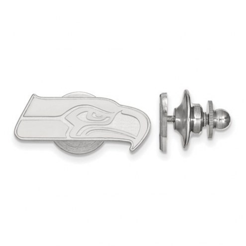 Seattle Seahawks Sterling Silver Lapel Pin