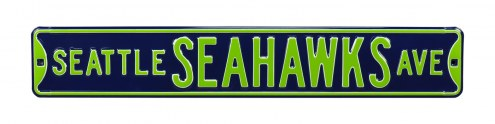 Seattle Seahawks Street Sign