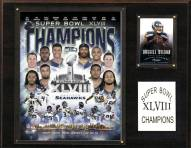 "Seattle Seahawks 12"" x 15"" Super Bowl XLVIII Champions Plaque"