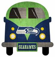 Seattle Seahawks Team Bus Sign