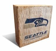 Seattle Seahawks Team Logo Block