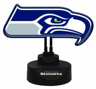 Seattle Seahawks Team Logo Neon Light
