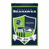 Seattle Seahawks Team Shield Banner