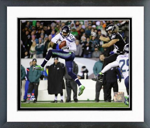 Seattle Seahawks Tharold Simon Action Framed Photo