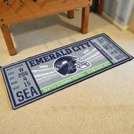 Seattle Seahawks Ticket Runner Rug
