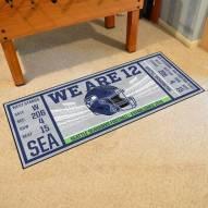 Seattle Seahawks Ticket Runner Rug