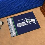 Seattle Seahawks Uniform Inspired Starter Rug