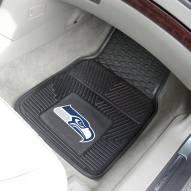Seattle Seahawks Vinyl 2-Piece Car Floor Mats