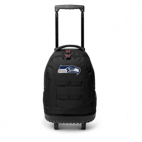 NFL Seattle Seahawks Wheeled Backpack Tool Bag