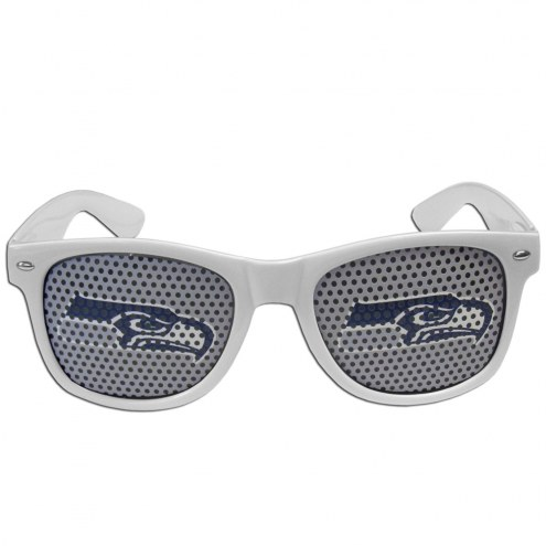 Seattle Seahawks White Game Day Shades