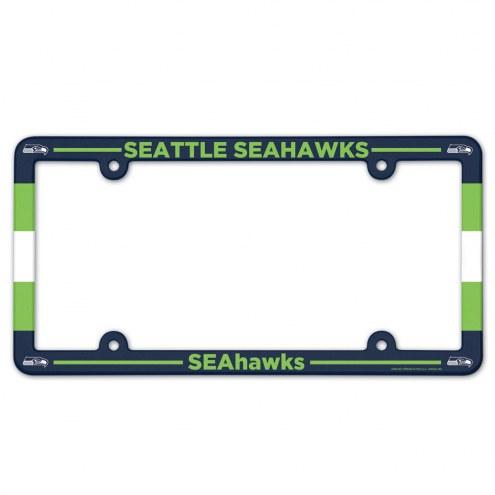 Seattle Seahawks License Plate Frame