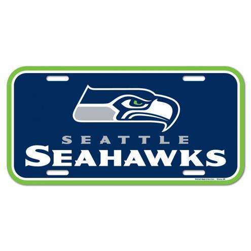Seattle Seahawks License Plate